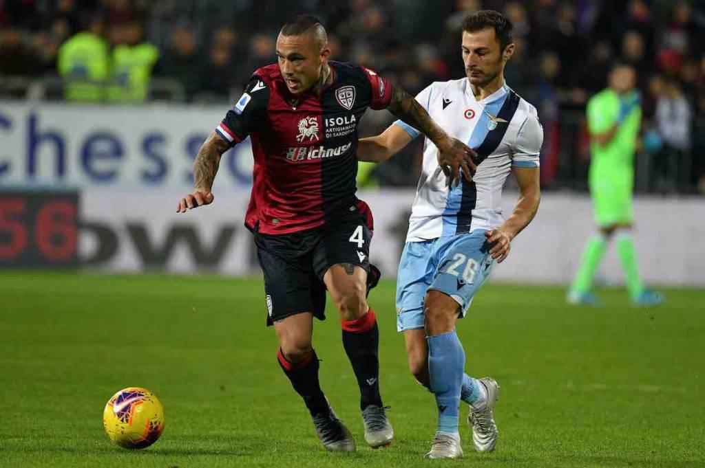 Nainggolan scherza su Cagliari-Lazio