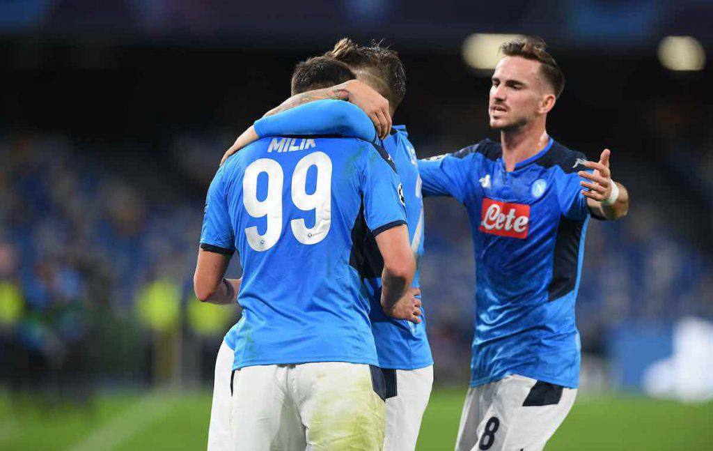 Champions League, highlights Napoli-Genk