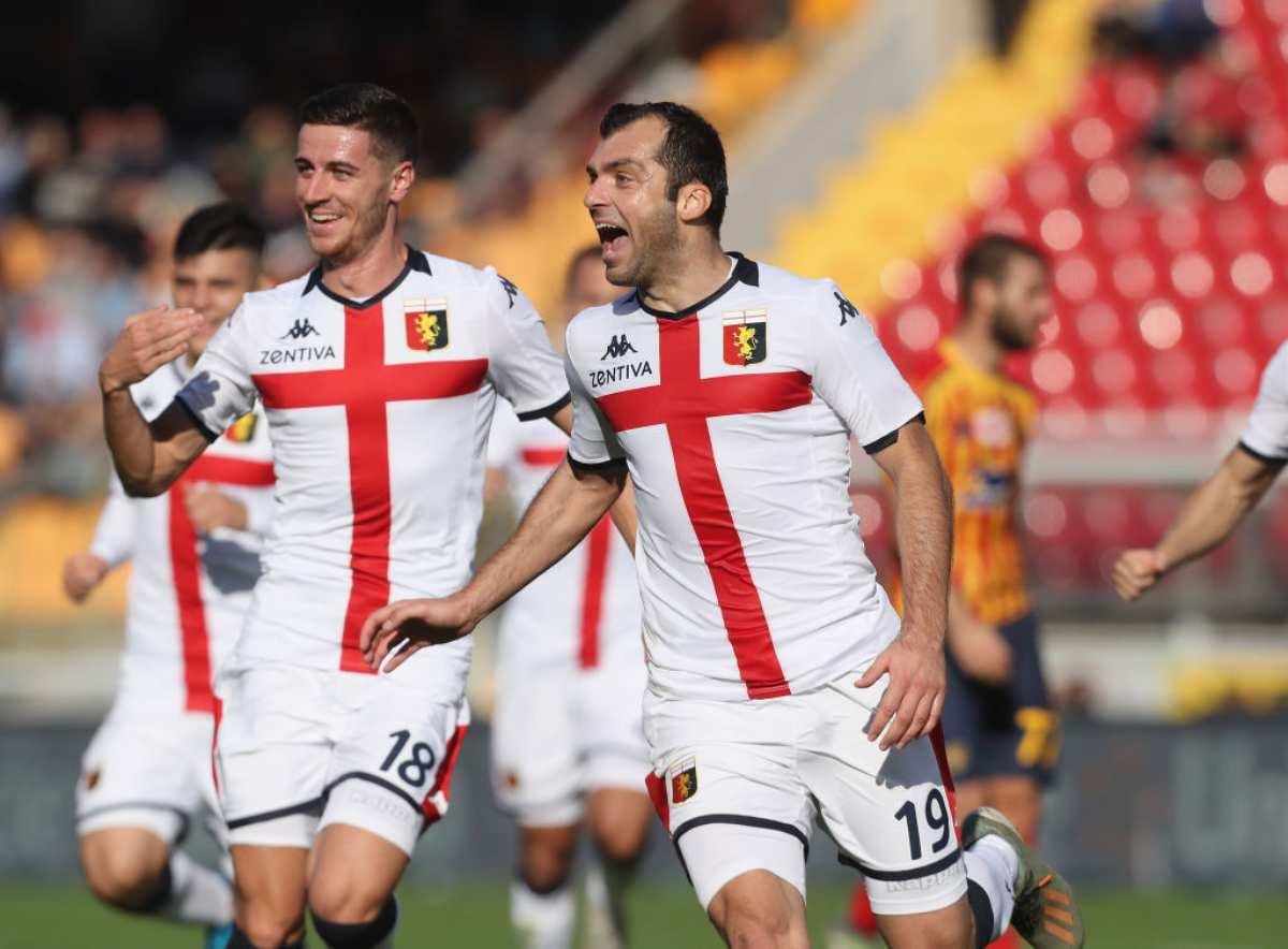 Pandev, gol straordinario in Lecce-Genoa