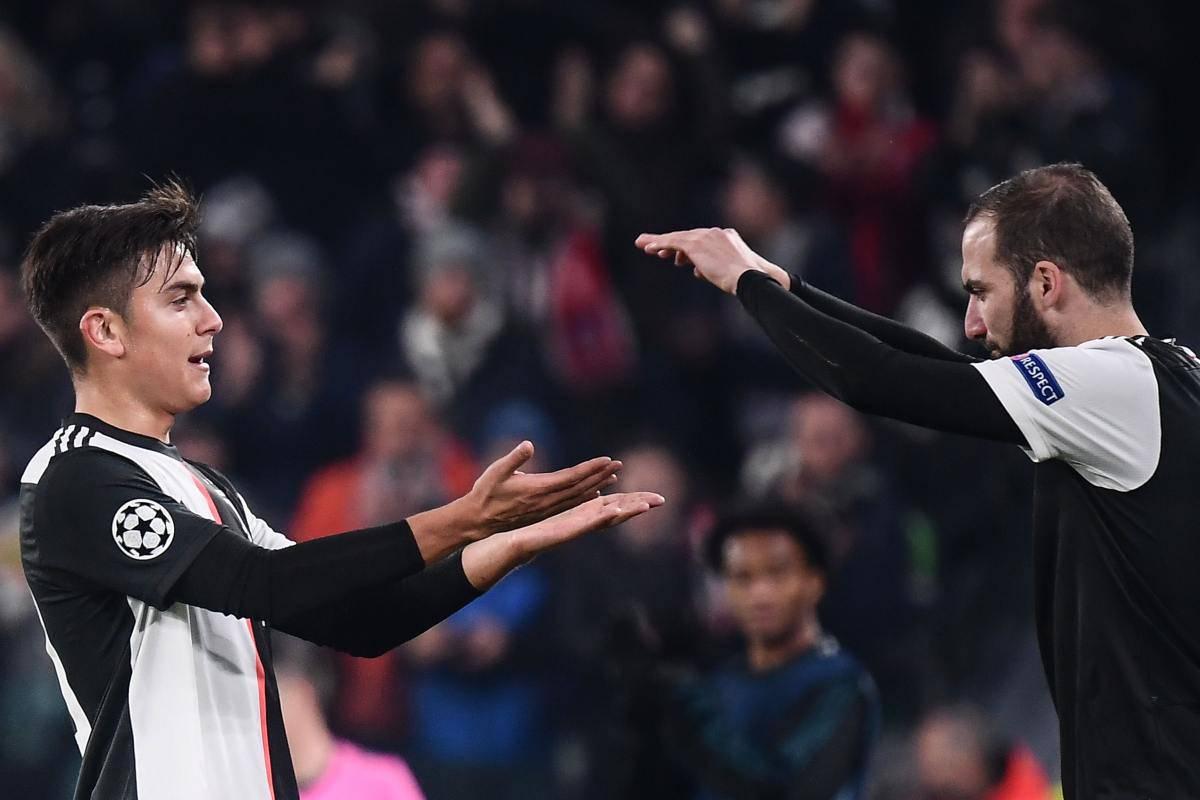 Paulo Dybala Gonzalo Higuain Juventus (Getty Images)