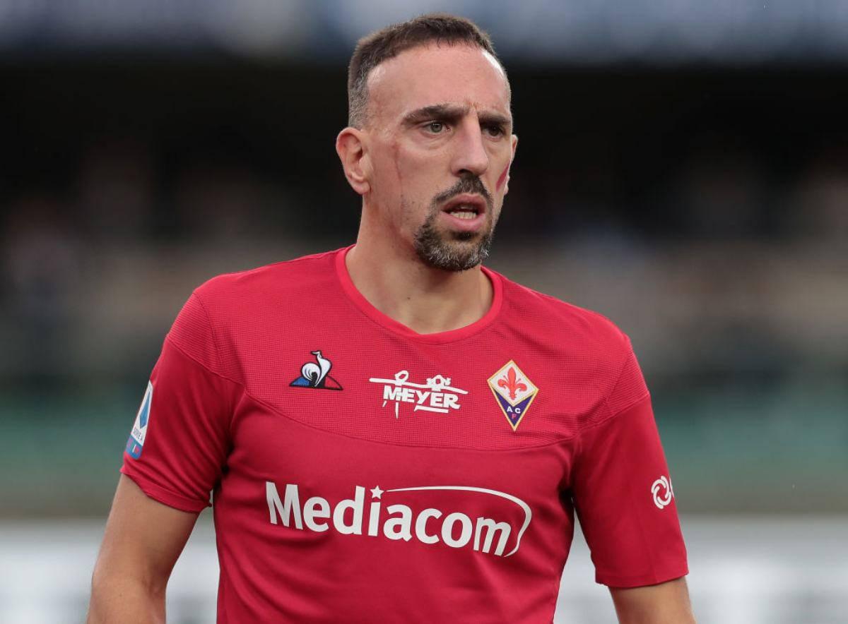 Ribery rientra a febbraio. Fiorentina sul mercato