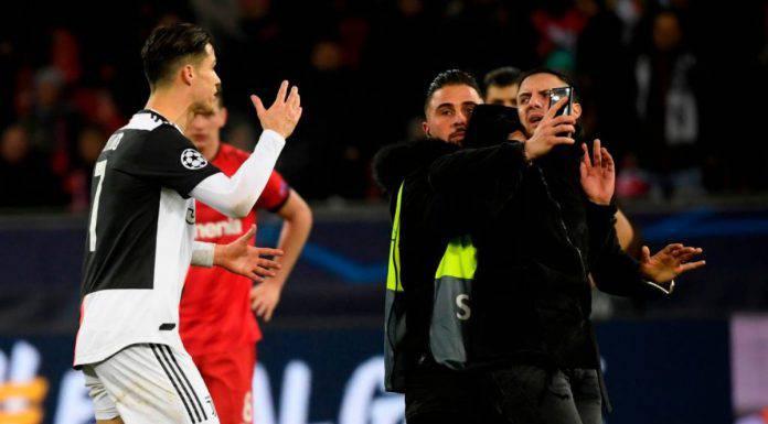 Juventus Ronaldo Invasore