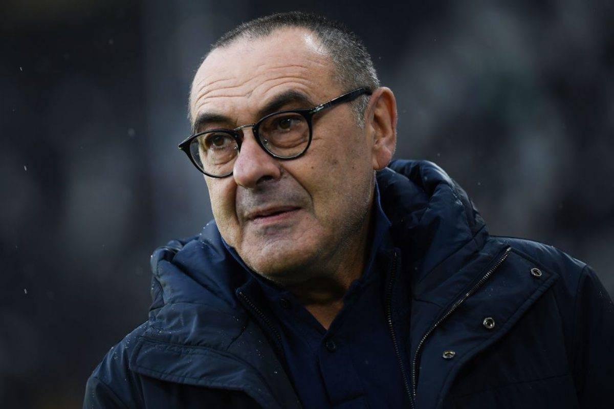 Sarri conferenza stampa Lazio-Juventus