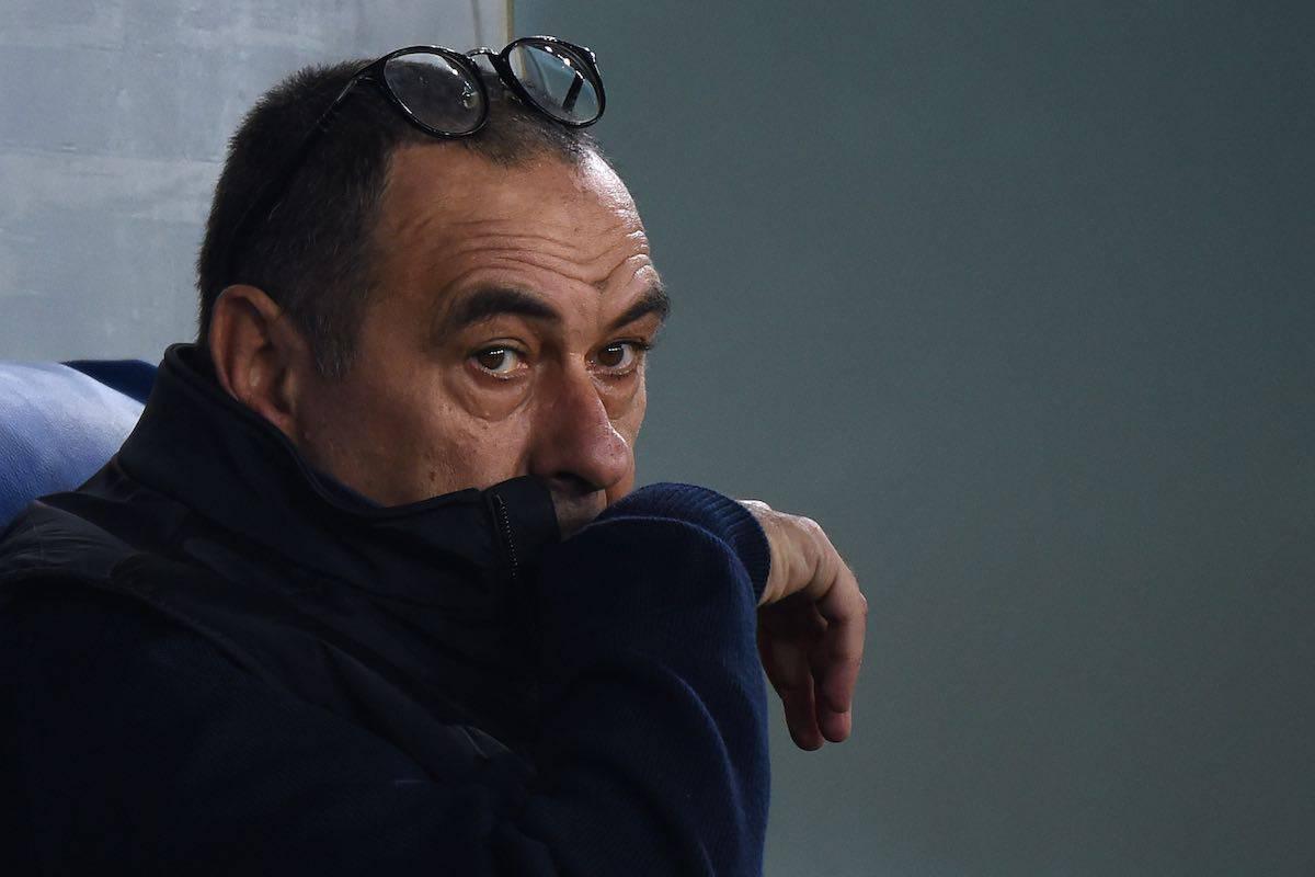 Sarri nel post gara contro la Lazio