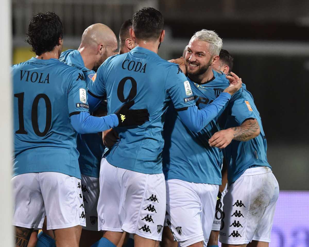 Serie B, i risultati del 26 dicembre: Benevento in fuga, Livorno ancora sconfitto, ultimo