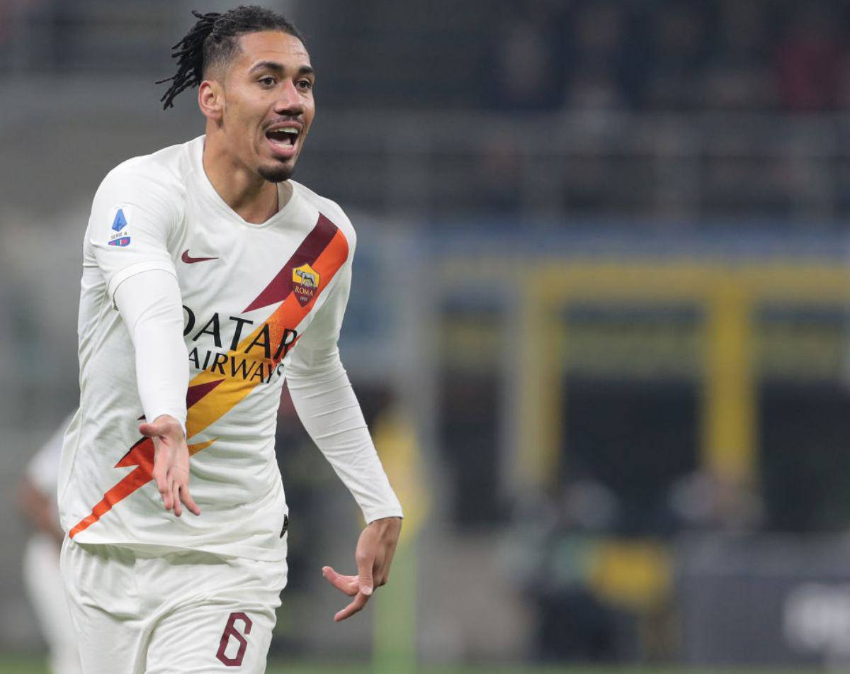 Smalling, la proposta della Roma allo United (Getty Images)