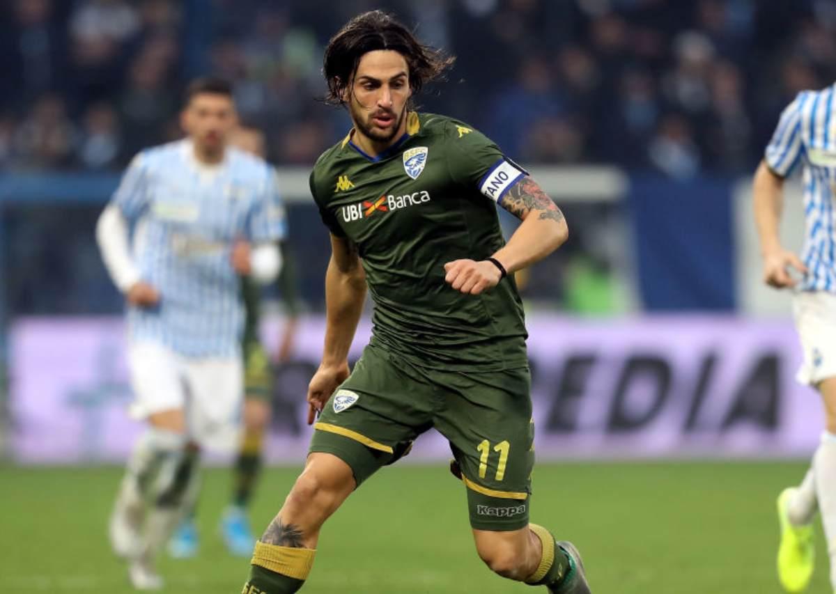 Torregrossa, uno degli italiani in campo e anche autore del gol