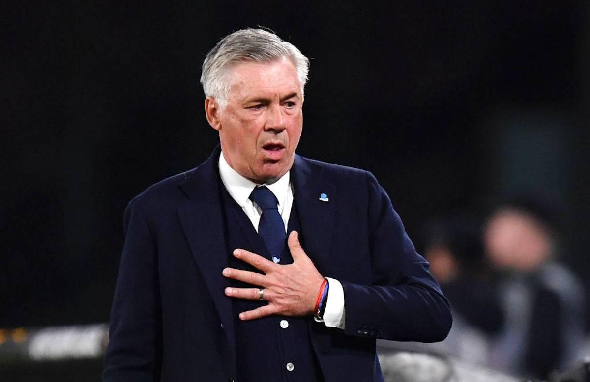 Napoli-Ancelotti: destino già segnato. Arriva il nuovo allenatore