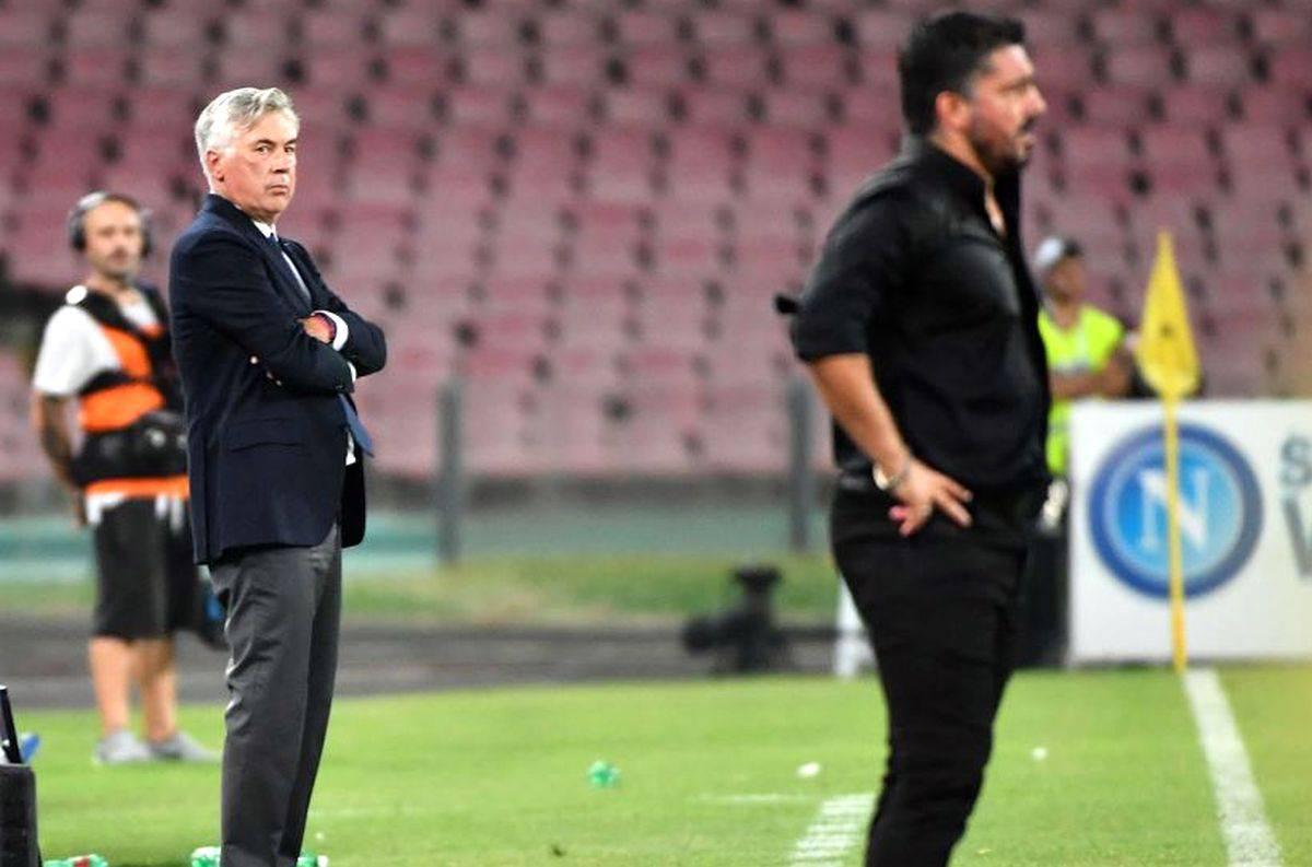 Napoli, esonerato Ancelotti: rivolta social dei tifosi. Dubbi e ironia su Gattuso