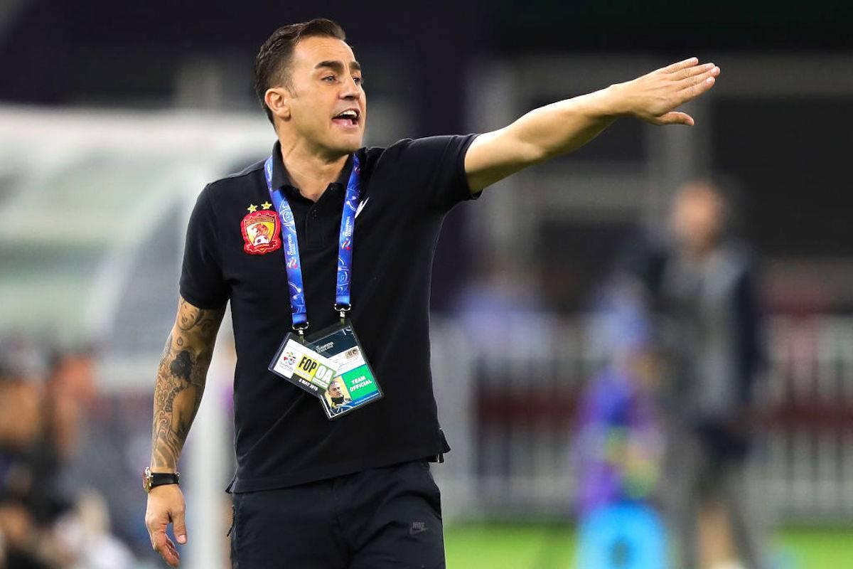 """Fabio Cannavaro dopo il trionfo in Cina: """"So dove voglio allenare"""""""