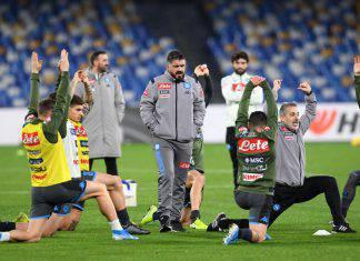 Champions League, Napoli-Barcellona: il commento di Gattuso sul sorteggio