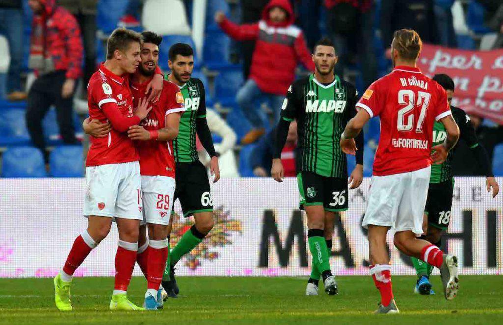 Coppa Italia, highlights Sassuolo-Perugia