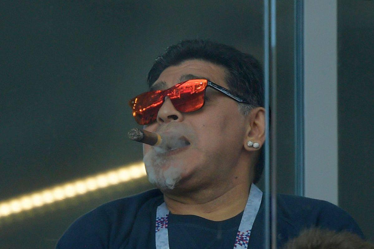 """Boca, Maradona furioso contro Riquelme: """"Peggio di Passarella"""""""