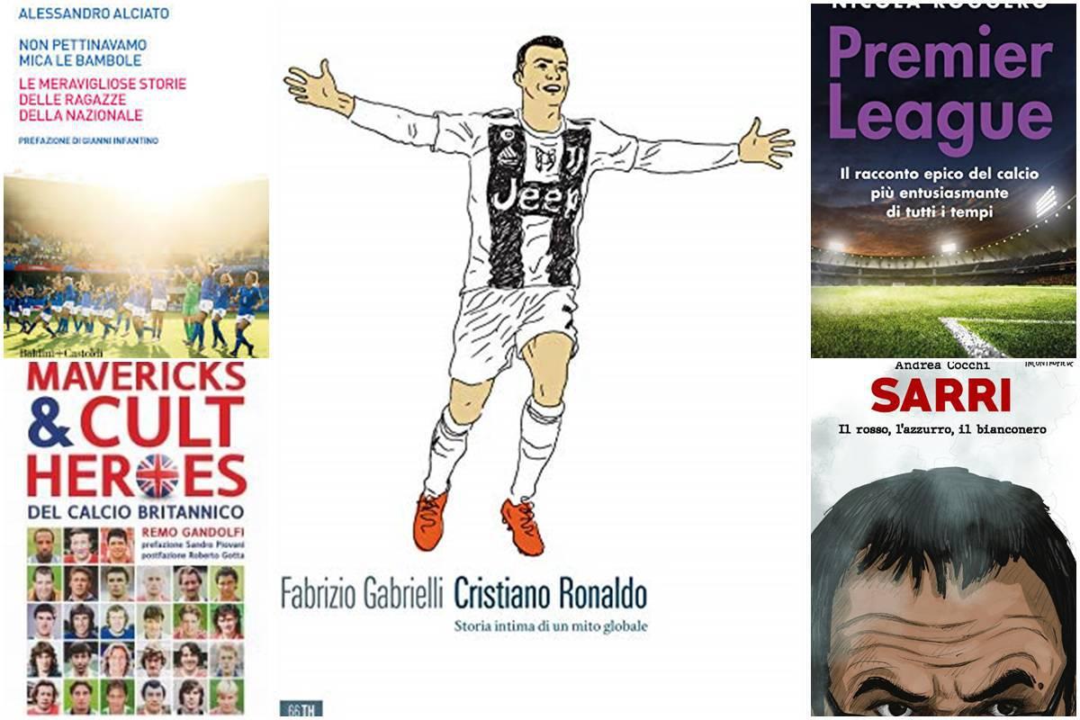 Libri sul calcio, i consigli su cosa leggere durante le feste