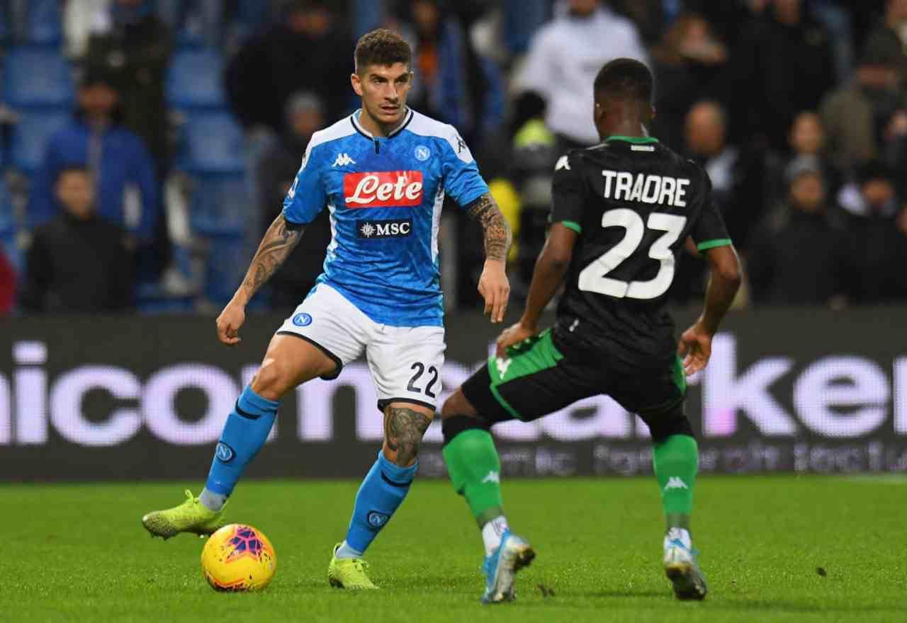 Sassuolo-Napoli, Serie A