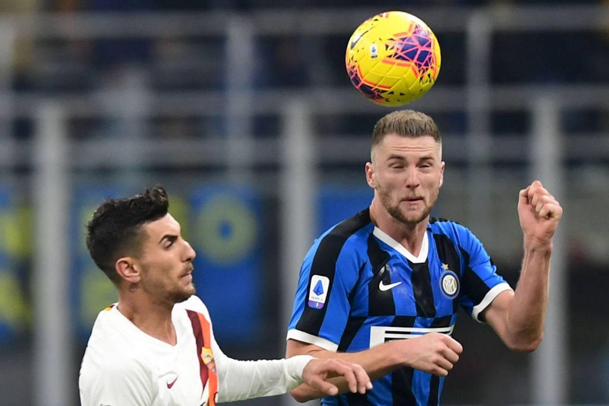 Inter-Roma, pagelle e voti Gazzetta dello Sport: Godin e Skriniar super, Dzeko non incide