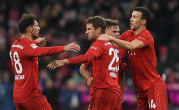 Bayern Monaco, tensione in allenamento