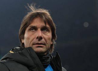 Antonio Conte in conferenza stampa prima di Lecce-Inter