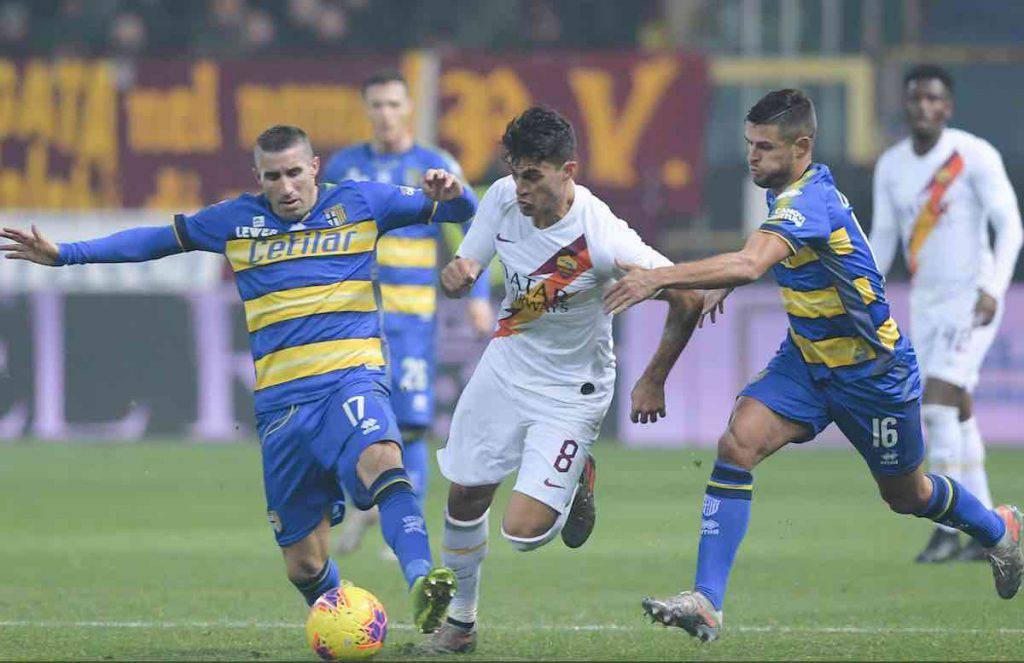 Coppa Italia, highlights Parma-Roma