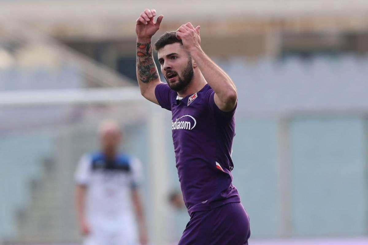 Cutrone, primo gol con la Fiorentina