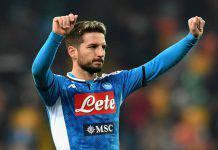 Calciomercato Napoli, Mertens: la richiesta è alta. Il Chelsea si tira indietro
