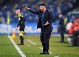"""Napoli-Fiorentina, Gattuso: """"Abbiamo sbagliato tutto. Sono preoccupato. Siamo sprofondati"""""""