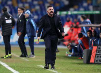 Gattuso nel post gara contro la Lazio
