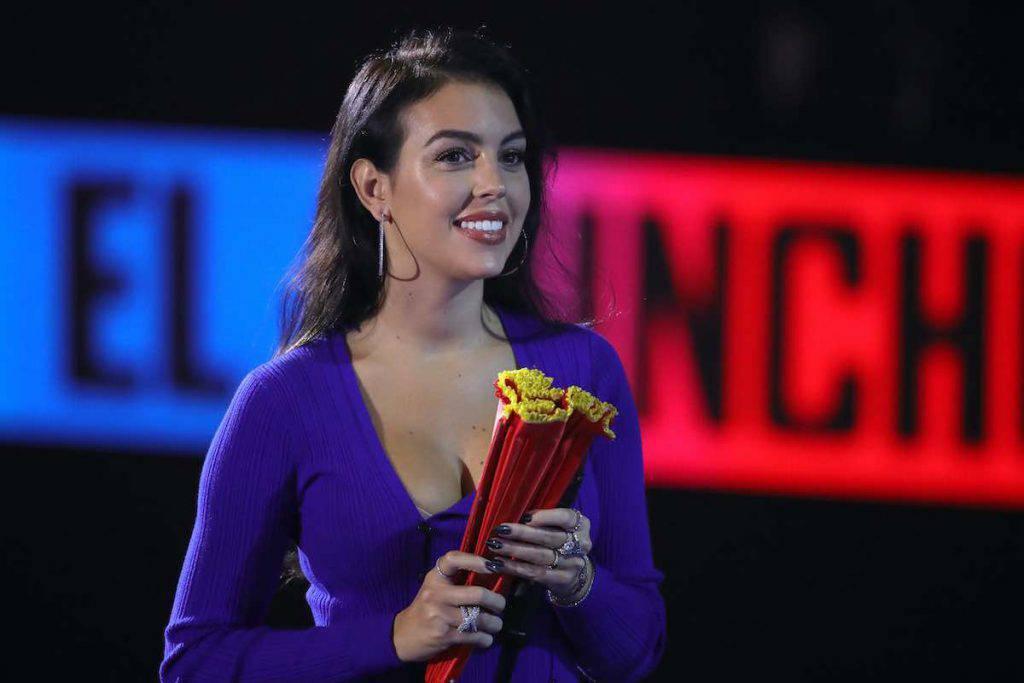 Georgina Rodriguez, anche Lady Ronaldo all'Ariston