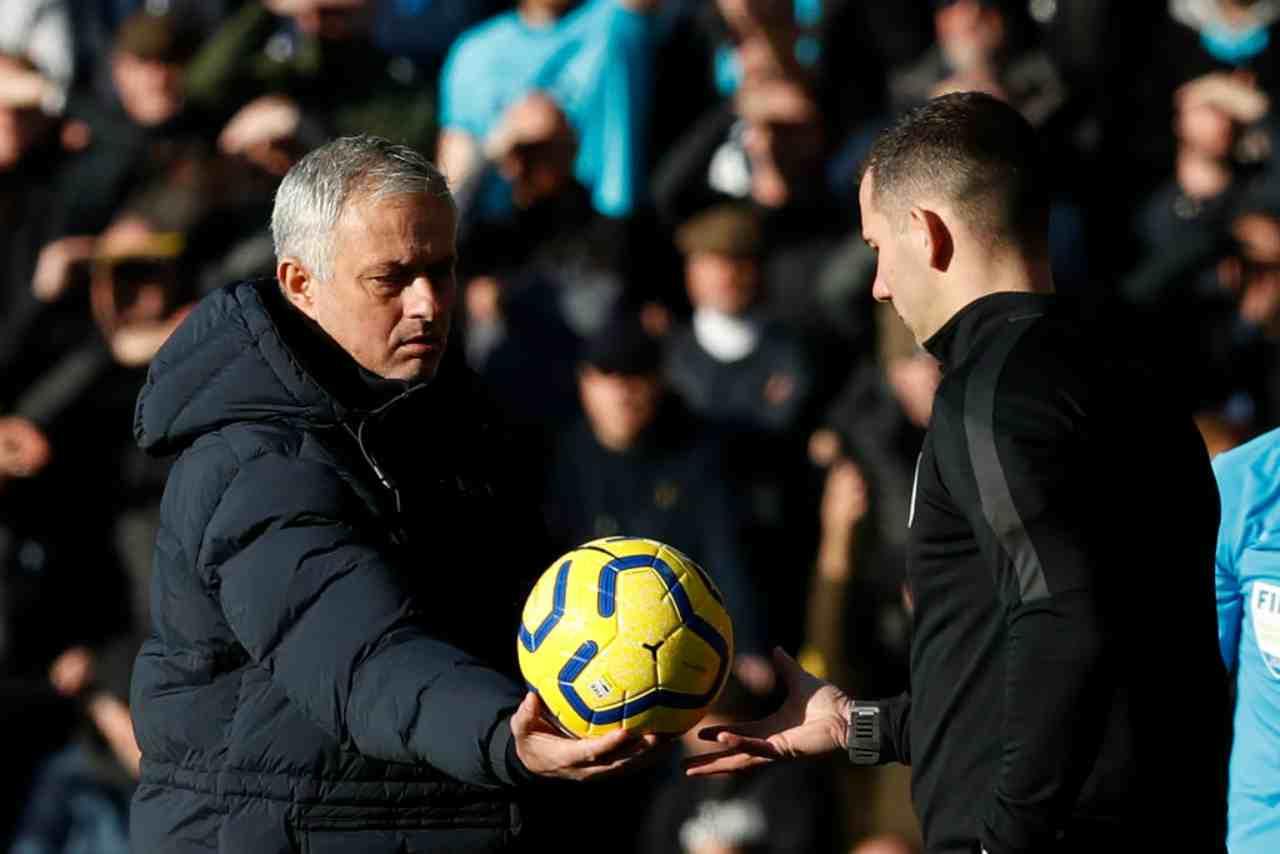 """Tottenham, Mourinho contro la VAR: """"Eriksen? Avevo bisogno della sua qualità contro il Watford"""""""