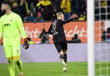 Bundesliga: Haaland mette le ali al Borussia Dortmund, tripletta in 23' all'Augsburg