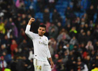 Liga: super Casemiro, il Real Madrid supera il Siviglia e resta al comando