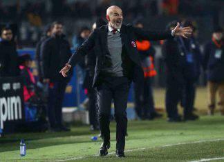 """Brescia-Milan, Pioli: """"Stiamo guarendo, ma dobbiamo migliorare. Ibrahimovic valore aggiunto"""""""