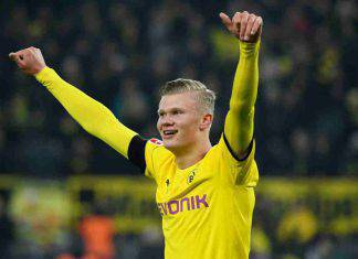 Borussia Dortmund, Haaland nella storia: 5 gol nei primi 59 minuti in Bundesliga