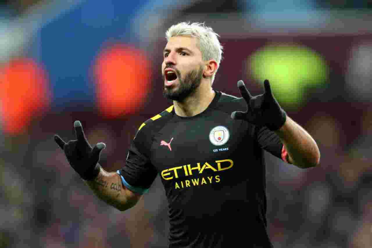 Premier League: Manchester City, manita all'Aston Villa. Aguero da record: superato Henry