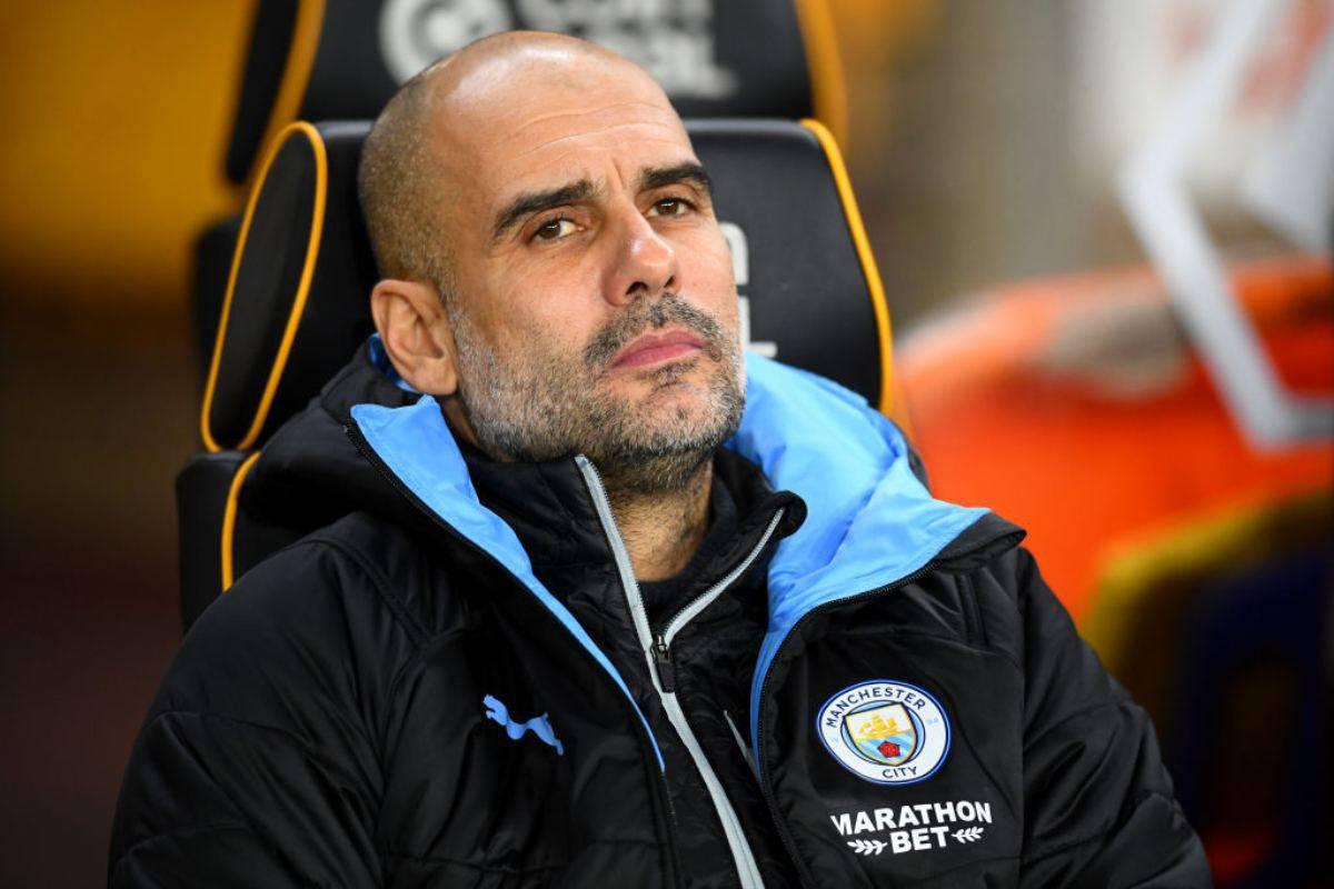 Manchester City, l'infortunio di Aguero preoccupa Guardiola