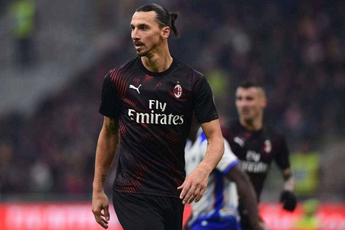 Milan-Spal, effetto Ibra in Coppa Italia: in 30mila a San siro