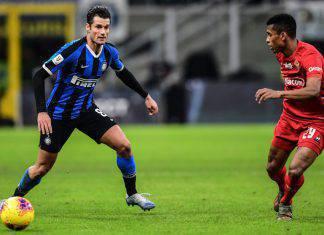 Coppa Italia, Inter-Fiorentina 2-1: Barella, stoccata vincente. In semifinale c'è il Napoli