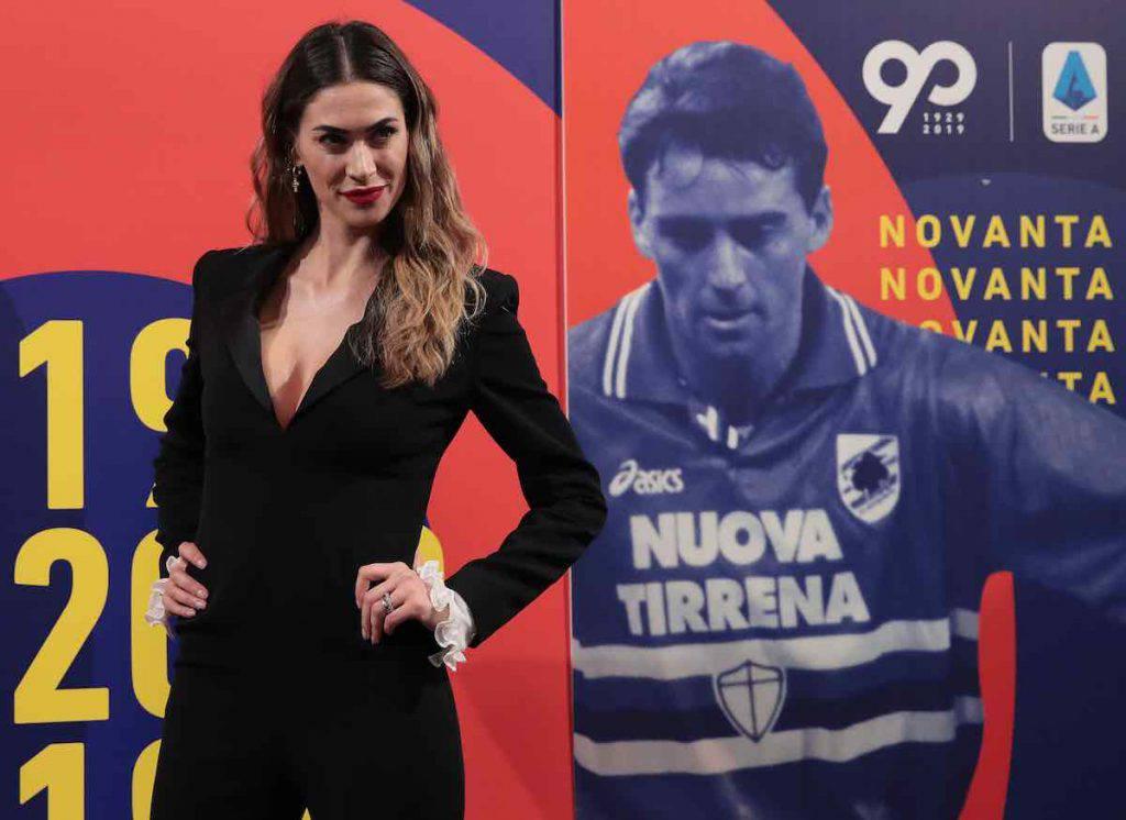 Melissa Satta a Milano incanta i followers