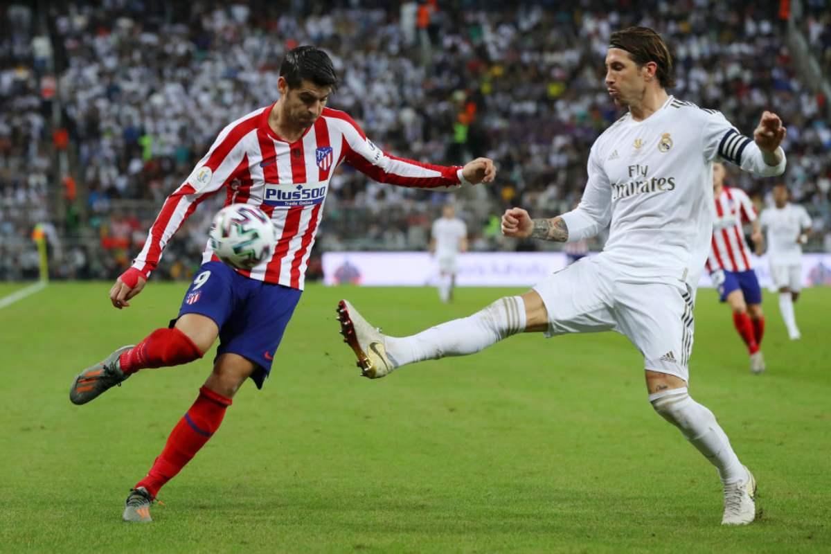Supercoppa di Spagna: il Real Madrid trionfa ai rigori, Zidane batte ancora l'Atletico