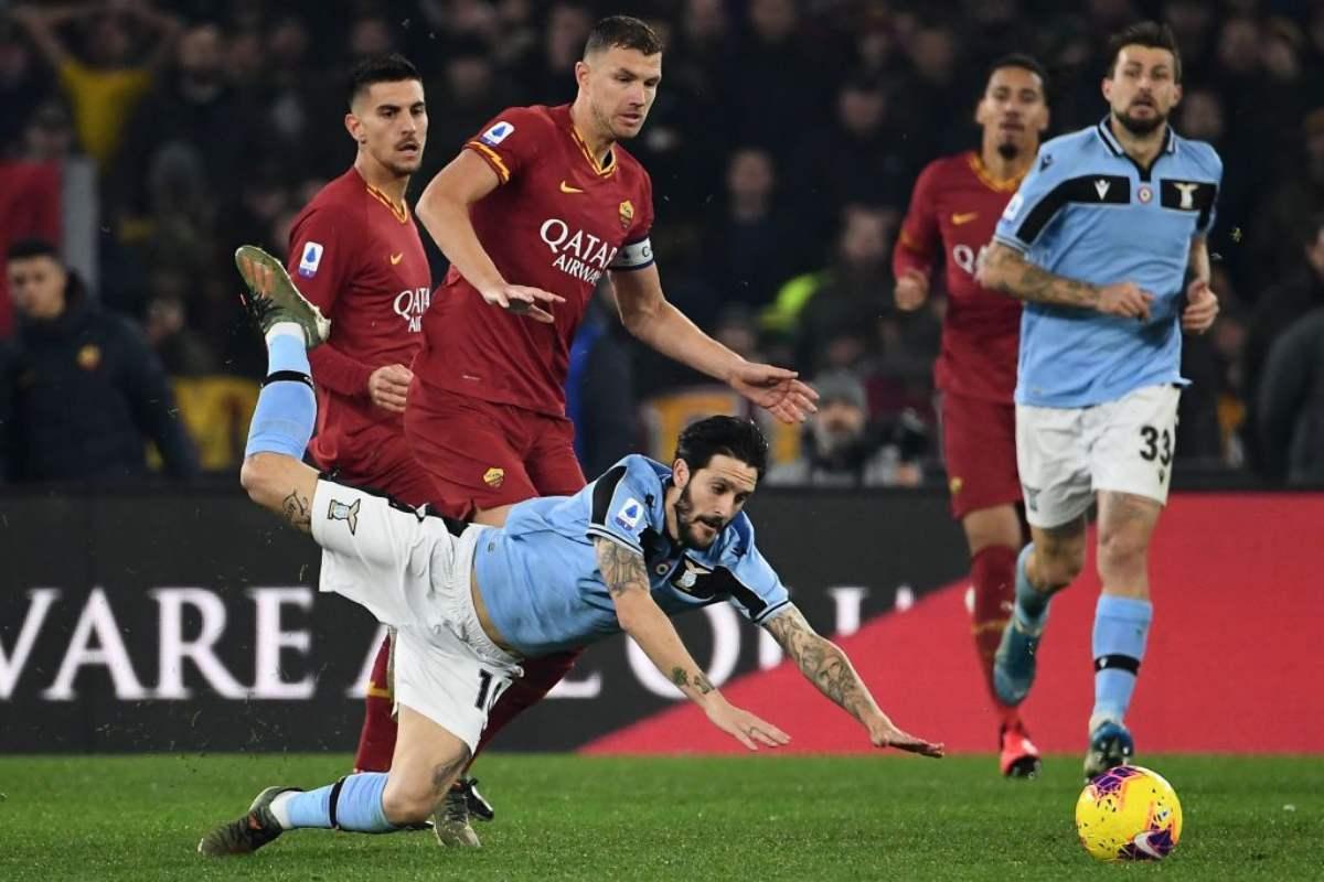 Roma-Lazio 1-1: Dzeko illude, Acerbi pareggia. I giallorossi sprecano tanto