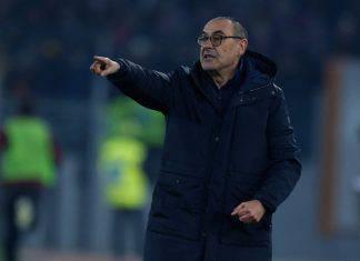 Sarri in conferenza per Juventus-Roma