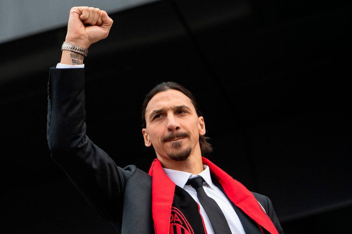 Milan-Sampdoria, al minuto 54 il ritorno in campo di Ibrahimovic