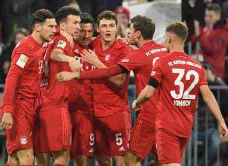 Bundesliga: il Lipsia cade a Francoforte, il Bayern Monaco ne approfitta