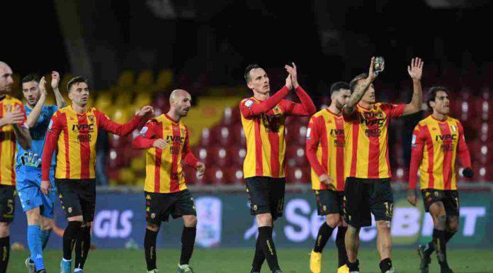 Serie B: il Benevento passa a Cittadella, il Pordenone cade contro il Pescara