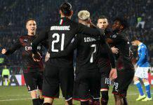 Brescia-Milan 0-1, Rebic decisivo, i rossoneri agganciano la zona Europa
