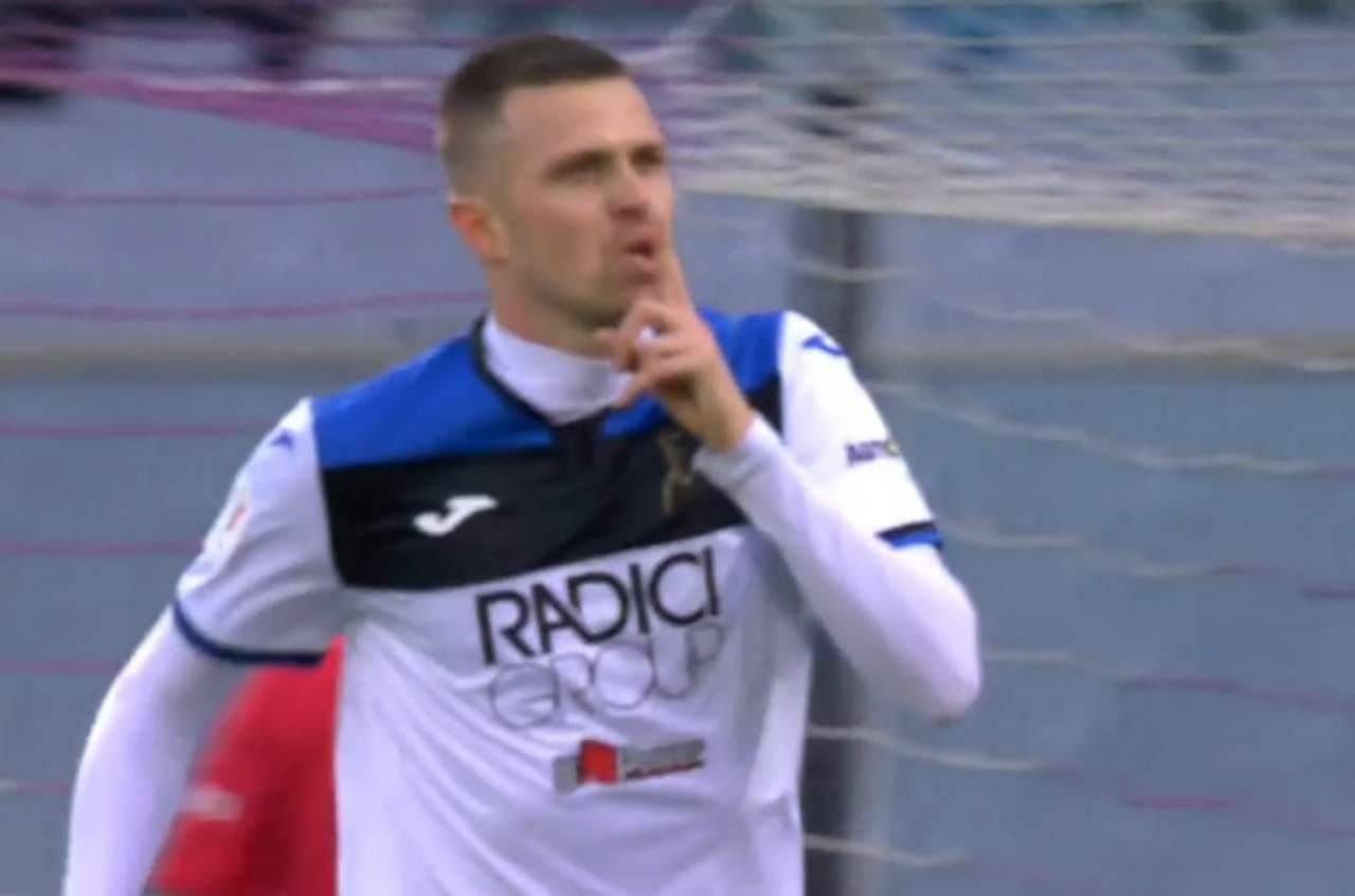 Fiorentina-Atalanta, Ilicic zittisce gli ex tifosi: è bufera social