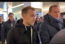 Inter, Eriksen atterrato a Milano: pronto per le visite mediche | FOTO