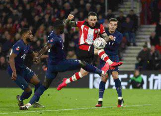 FA Cup, risultati 25 gennaio: il Tottenham pareggia a Southampton, il Leicester agli ottavi
