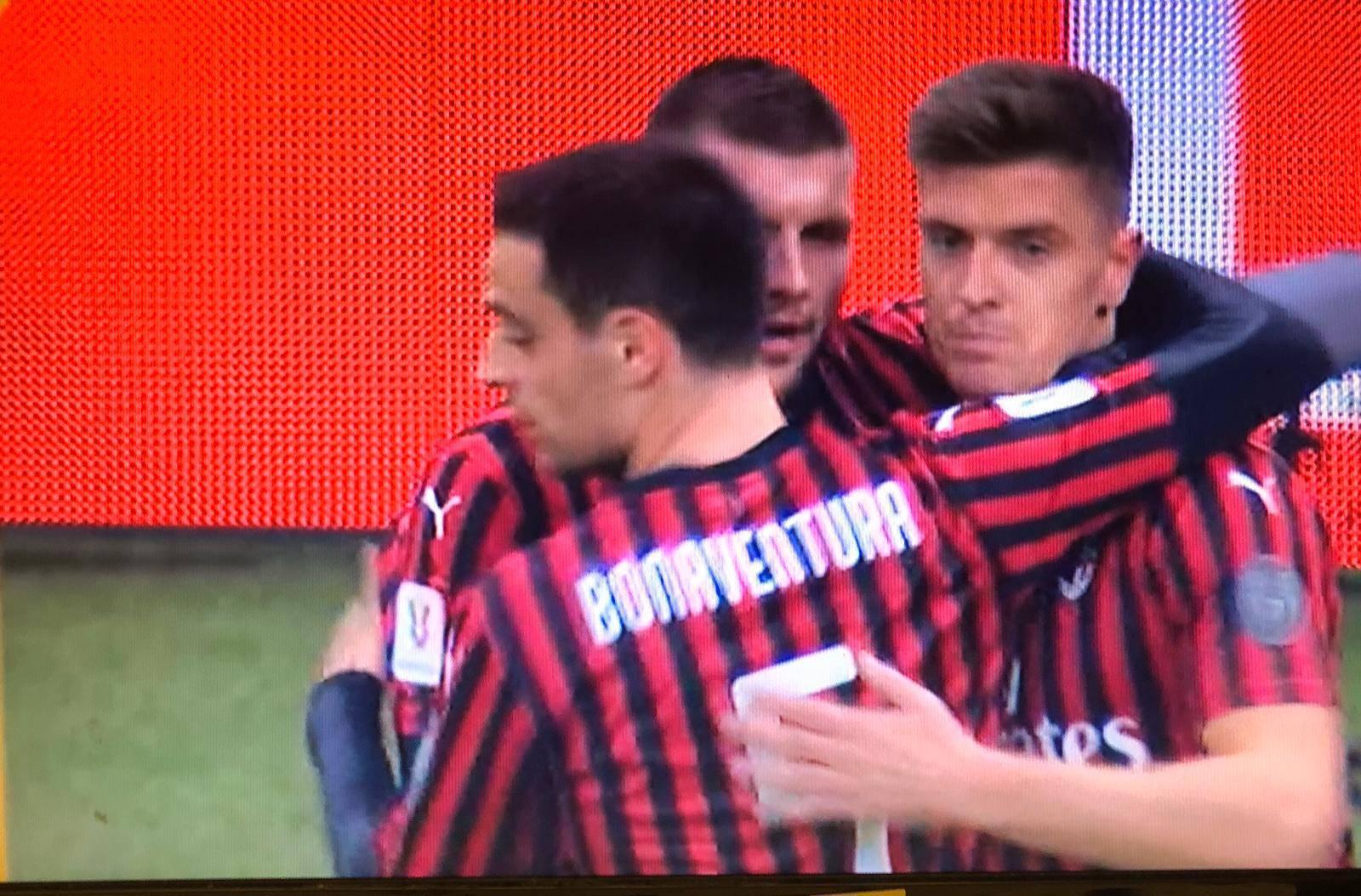 Milan, piatek in gol con La spal: un anno dopo stessa rete in coppa Italia