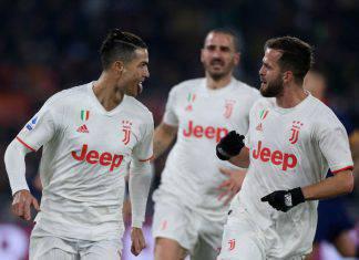 Roma-Juventus 1-2, Demiral e Cristiano Ronaldo: bianconeri campioni d'inverno
